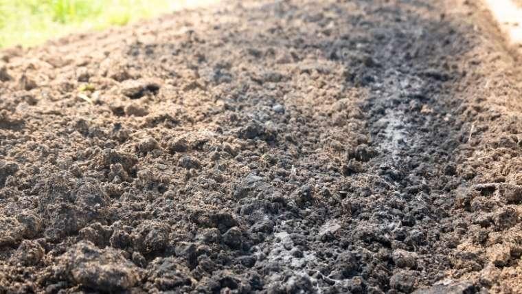 肥料を混ぜる