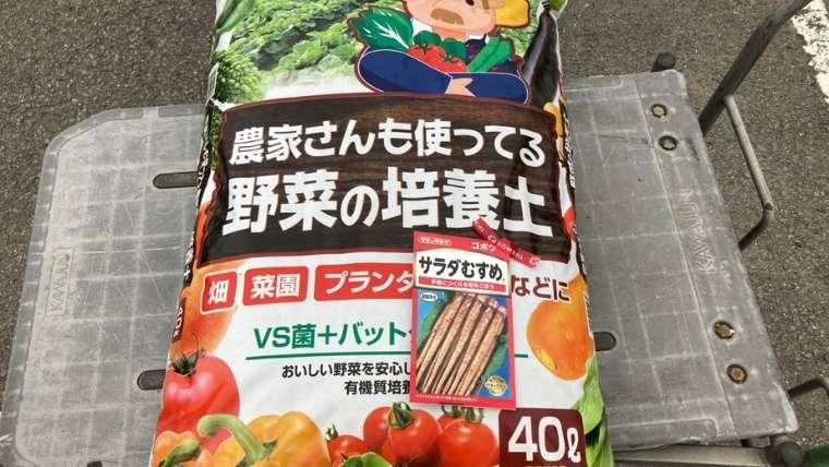ゴボウの袋栽培